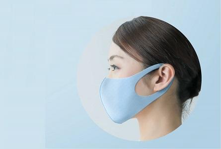 こだわりの形状でマスク浮きを軽減。立体成型で息苦しくなりにくい。